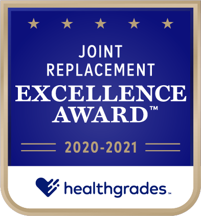 Joint Replacement Excellence Award 2020-2021